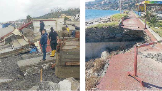 erosione costiera, ex trocadero, fondi, galati marina, Messina, Sicilia, Cronaca