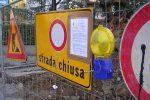 Frana a Caltanissetta, chiusa per due chilometri la Statale 122: traffico deviato