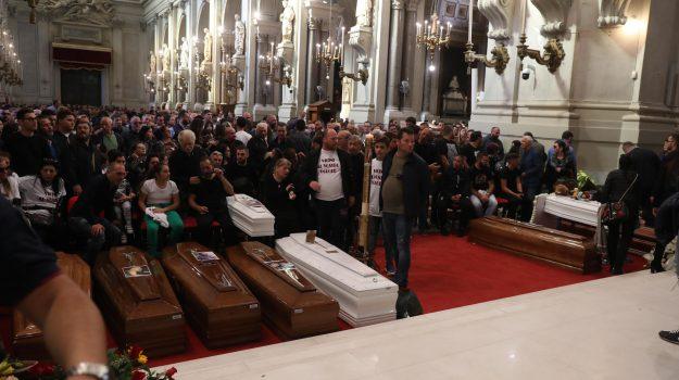 maltempo funerali vittime casteldaccia, Sicilia, Cronaca