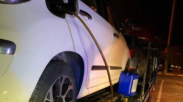 arresto messina, furto carburante, Gianpiero Macaluso, Messina, Sicilia, Cronaca
