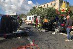 Scontro frontale vicino Sarrottino: 4 feriti gravi - Le immagini dall'incidente sulla Statale