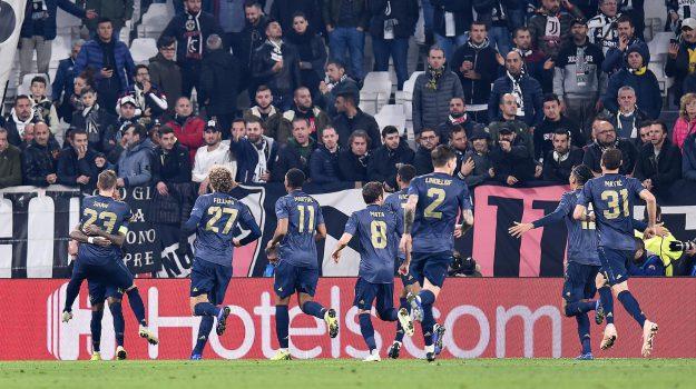 champions league, juventus manchester united, Sicilia, Sport
