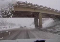 Brutta avventura per questo guidatore del Michigan