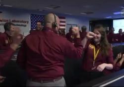 L'arrivo della sonda sul Pianeta Rosso