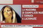 """Lacrime della Madonna di Giampilieri, parla il prete: """"E' tutto vero"""""""