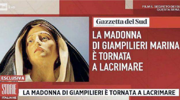 giampilieri, lacrime, madonna, Giovanni Celi, Messina, Sicilia, Società