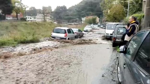 alluvione, fango, maltempo, messina, santo stefano briga, torrente, Messina, Sicilia, Cronaca