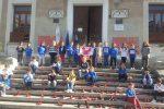 Scarpette rosse a Lamezia Terme, studenti in marcia contro la violenza