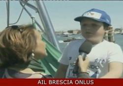 Mattia e la sua battaglia contro la leucemia Il Progetto Itaca di Ail Brescia e la vela-terapia - Corriere Tv