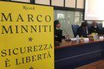 """""""Sicurezza è libertà"""", a Reggio la presentazione del libro di Marco Minniti"""