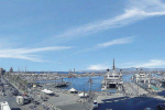 Il porto di Milazzo