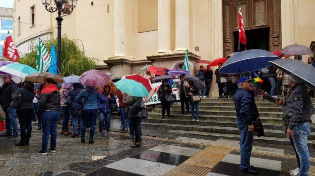 catanzaro sit-in, lsu-lpu protesta, Catanzaro, Calabria, Cronaca