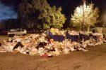 Messina ancora sotto i rifiuti ed è emergenza roghi, esposto dei cittadini alla Procura - Foto e video