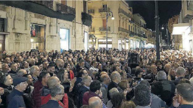 intimidazioni reggio calabria, manifestazione antiracket reggio, racket reggio calabria, Giuseppe Conte, Reggio, Calabria, Cronaca
