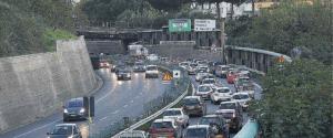 Traffico sulla tangenziale di Reggio Calabria