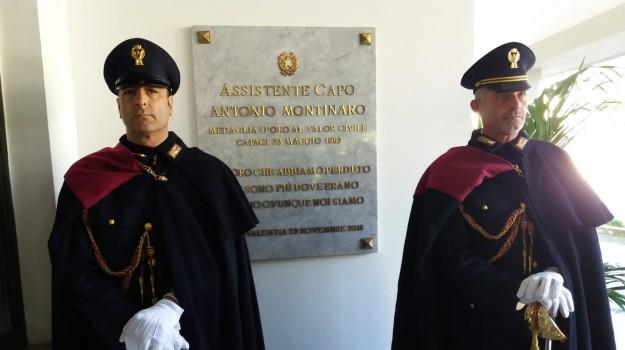 palazzina scuola di polizia, vibo montinaro, Antonio Montinaro, Franco Gabrielli, Catanzaro, Calabria, Cronaca