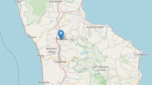 terremoto bisignano, terremoto forestella, Cosenza, Calabria, Cronaca