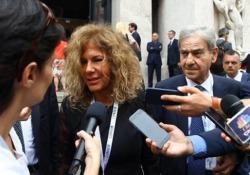 """La presidente di Eni al Consob Day di Milano loda le parole del ministro Tria: """"Corrette e in linea con quello che è necessario fare"""""""