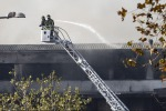 Locals told to close windows after Rome trash-facility fire