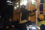 Three workers hurt in goods-train accident