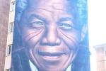 Mandela, murales di Jorit a Firenze