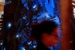 Natale, insetti 'infestano' albero artistico