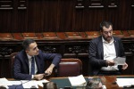 Salvini, Di Maio spar over business-leader meeting