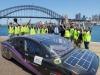 VIolet, la quattro porte solare elettrica del progetto Sunswift dellUniversity of New South Wales
