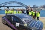 'VIolet', la quattro porte solare elettrica del progetto Sunswift dell'University of New South Wales