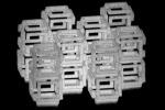 Nanostrutture stampate in 3D e fatte restringere grazie a uno speciale gel (fonte: Daniel Oran)
