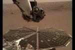 Il lander Insight ha registrato per la prima volta il suono del vento su Marte (fonte:NASA/JPL-Caltech)