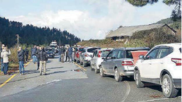 protesta, serra san bruno, strade, vincenzo albanese, Catanzaro, Calabria, Cronaca