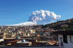 Etna, migliora la situazione, riaperto l'aeroporto di Catania