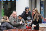 Pitt e Jolie a Venezia insieme ai figli
