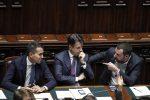 Di Maio, Conte e Salvini