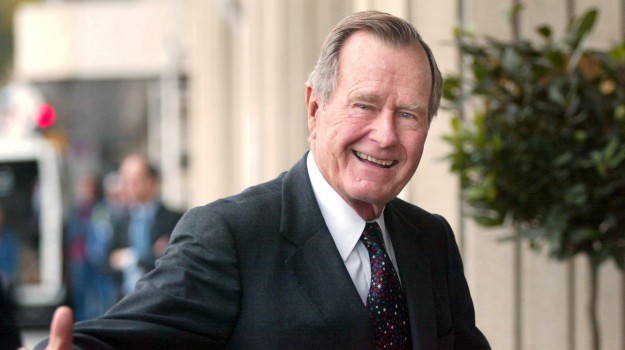 morto George Bush, presidente america, George H. W. Bush, Sicilia, Mondo