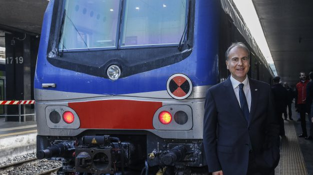 ferrovie dello stato, treni, gianfranco battisti, Sicilia, Economia