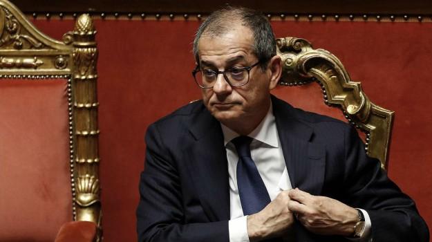 manovra finanziaria, Giovanni Tria, Sicilia, Economia