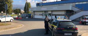 L'ingresso dell'ospedale di Lamezia, al centro dell'inchiesta