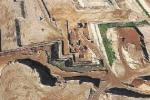 L'area in cui sorgerà il nuovo ospedale di Corigliano