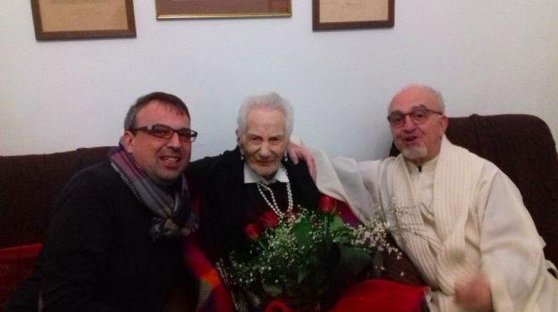 Adele Carnevale 110 anni, Adele Rijtano, centenaria Lipari, lipari, Adele Carnevale, Messina, Sicilia, Società