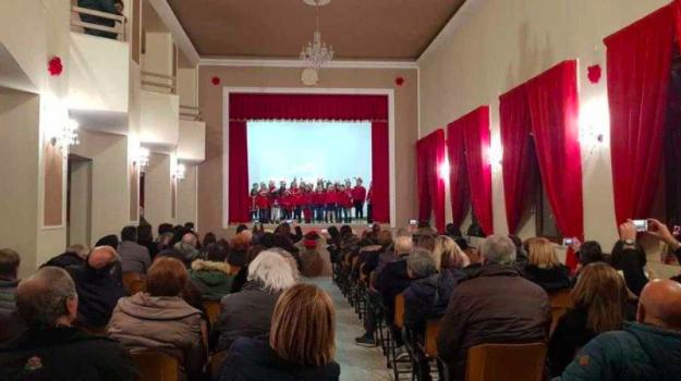 inaugurazione teatro Monterosso, monterosso calabro, teatro Monterosso Calabro, Antonio Giacomo Lampasi, Catanzaro, Calabria, Cultura