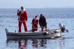 Lipari, Babbo Natale giunge dal mare