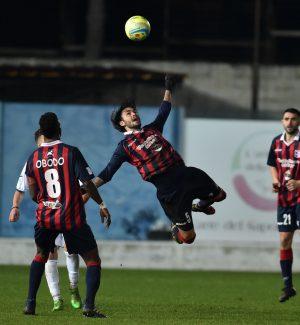 Vibonese-Casertana 3-1, i rossoblù conquistano la terza vittoria casalinga consecutiva
