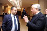 """Reggio, Tajani alla convention di FI: """"La Calabria è stata dimenticata dal Governo"""""""