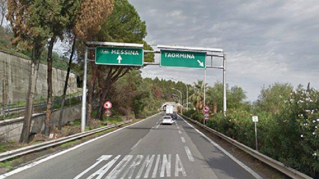 a18, autostrada messina-catania, svincolo taormina, Messina, Sicilia, Cronaca