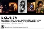Da Jim Morrison a Amy Winehouse, una mostra sugli artisti morti a 27 anni