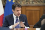 Basic income key social-policy measure Conte tells unions