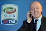 """Marotta: """"Complimenti a Conte, stessi punti del Triplete"""""""