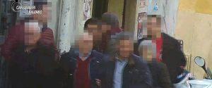 Un frame tratto dall'indagine della dda di Palermo che ha portato al fermo di 46 persone